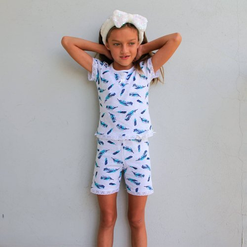 Піжама для дівчинки 649/801